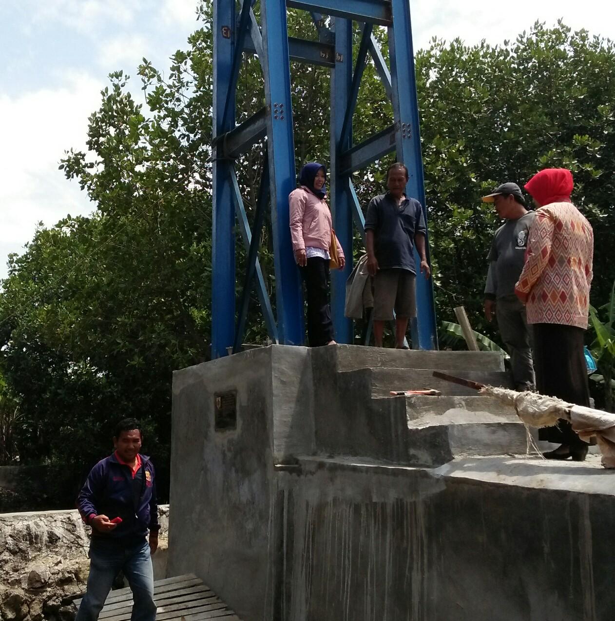 Monitoring Pembangunan Jembatan Gantung